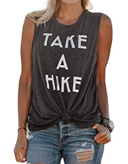 Life is Better at the Lake Racerback Tank Top Camping Hiking Outdoor Tee