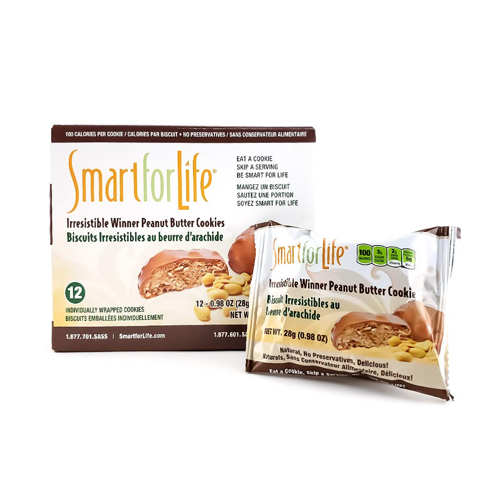 Smart for Life - 12ct Irresistible Winner Peanut Butter Cookie by Smart for Life