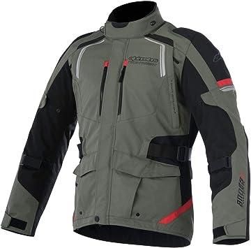Alpinestars Andes Drystar V2 Motorcycle Jacket Black Dark Grey