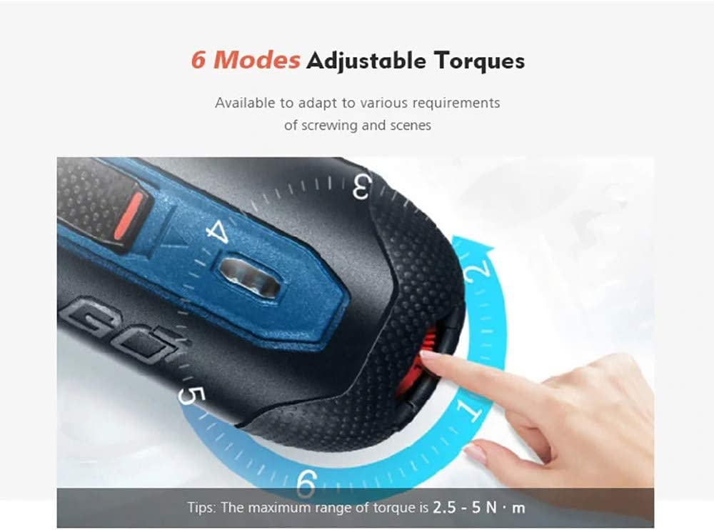 Bosch Go 2 Smart Akkuschrauber Top Qualit/ätsprodukt 3.6V Wireless Driver Schrauber mit Micro USB Ladekabel und Tragetasche