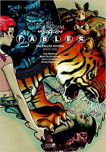 Amazon.fr - Fables vol. 1 (deluxe edition) - Bill Willingham, James ...
