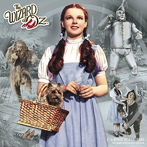 2018 The Wizard of Oz Wall Calendar (Day Dream)