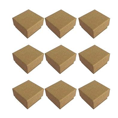 Artibetter Caja del Regalo de la Caja de la joyería de Kraft ...