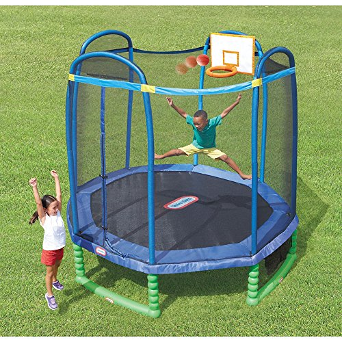 little tikes 10 sports trampoline trampoline warehouse. Black Bedroom Furniture Sets. Home Design Ideas