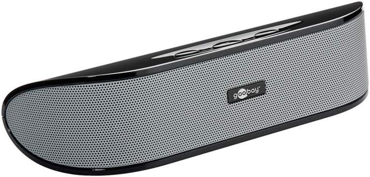 Cabstone SoundBar weiß Stereo-Lautsprecher mit Subwoofer /& Verstärker 95122