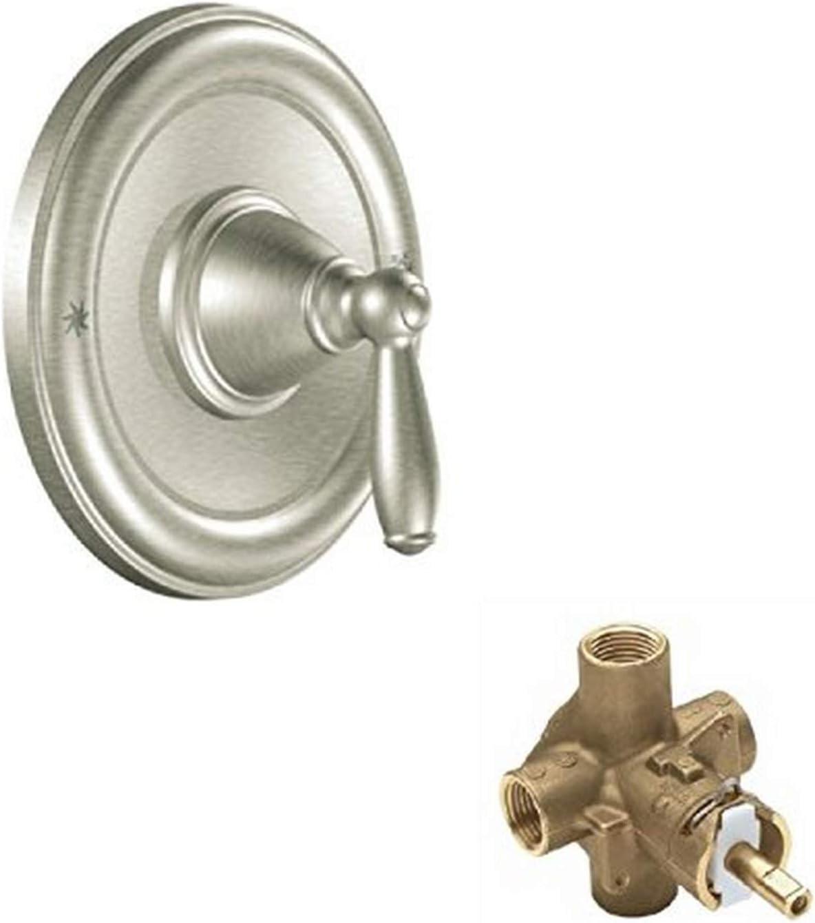 Moen KSVBR-P-T2151BN-2 Brantford Shower Valve Brushed Nickel