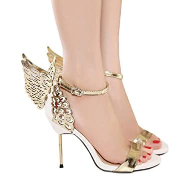 8e88dab80b48 DENER Women Ladies High Heel Sandals