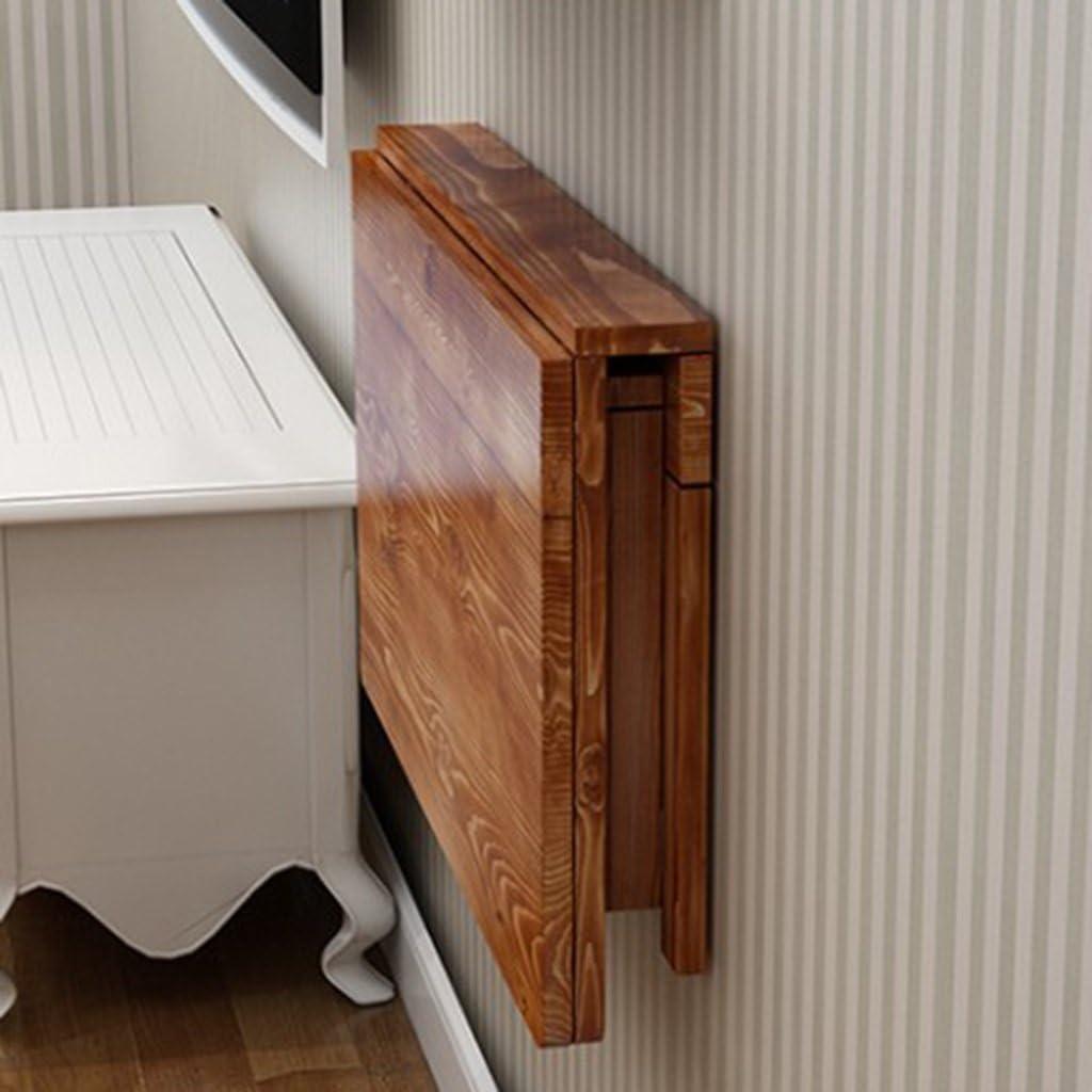 - Amazon.com: ZCJB Solid Wood Folding Table Wall Table Dining Table