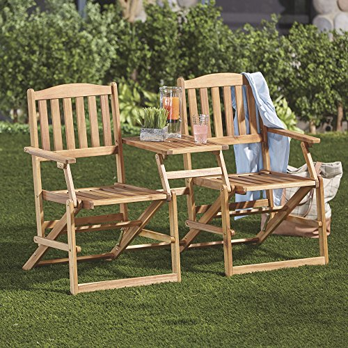 Patio Wise PWFN-018 Chairs with Built in Table Review