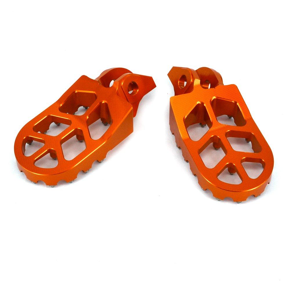 KTM 2016-2017 125-500 SXF EXCF XCF XCW JFG RACING CNC MX Foot Pegs Footpegs Rest Pedals