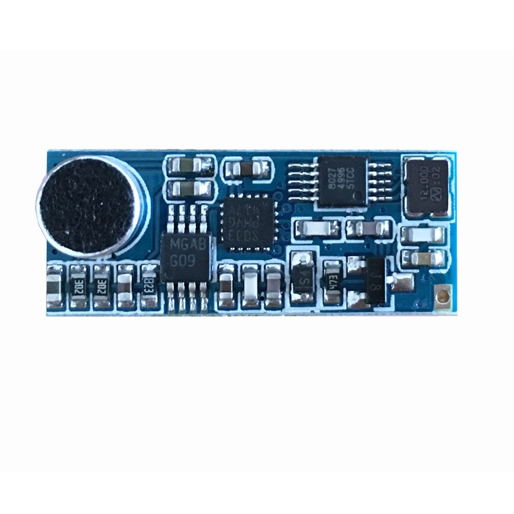 Mini Fm Wireless Microphone Module Micro Transmitter Small Power Pcb Layout Circuit Board Home Audio Theater