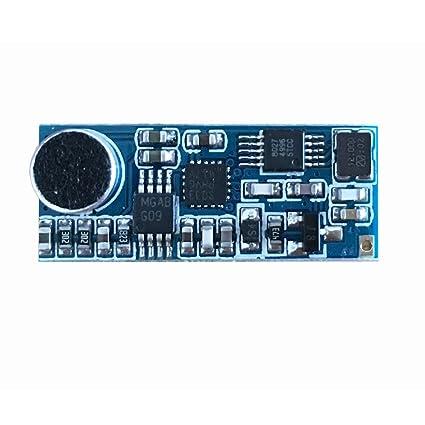 amazon com mini fm wireless microphone module micro fm transmitter mini fm wireless microphone module micro fm transmitter circuit board module