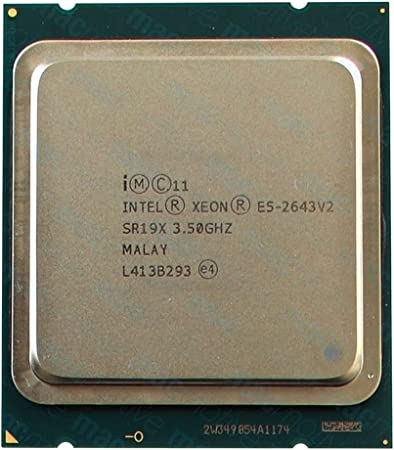 Amazon Com Intel Sr19x Xeon Six Core E5 2643 V2 3 50ghz 25mb 8gts Processor Renewed Computers Accessories