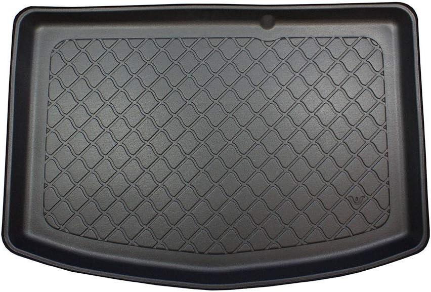 6857 Bac de Protection Antiderapant Utilisation*: Plancher de Coffre Bas sans Roue de Secours cod MTM Tapis de Coffre Yaris III Hybrid 01.2015- sur Mesure