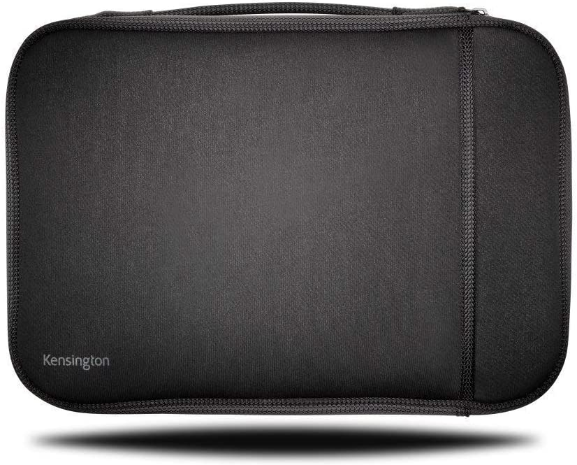 Kensington 14-Inch Laptop Chromebook Sleeve with Storage Pocket (K62610WW),Black