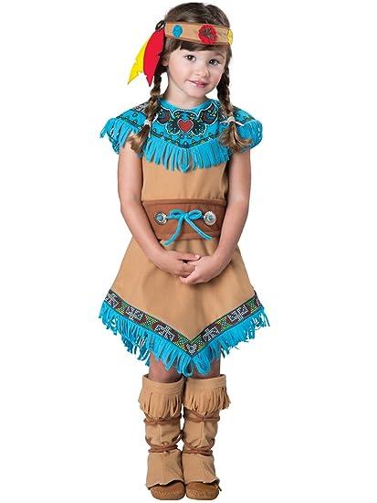 Amazoncom Incharacter Toddlers Indian Girl Costume Clothing