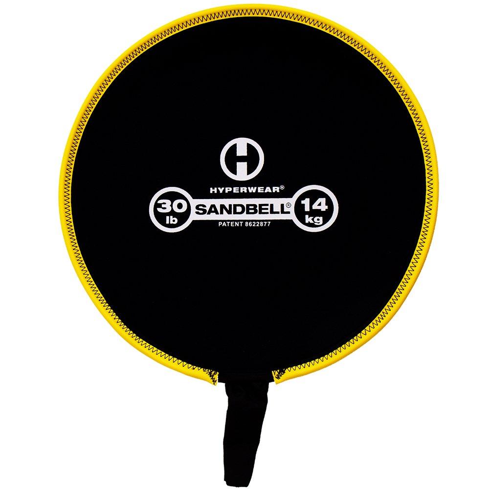 Hyperwear SandBell Neoprene Sandbag Free Weight (Unfilled), 30-Pound