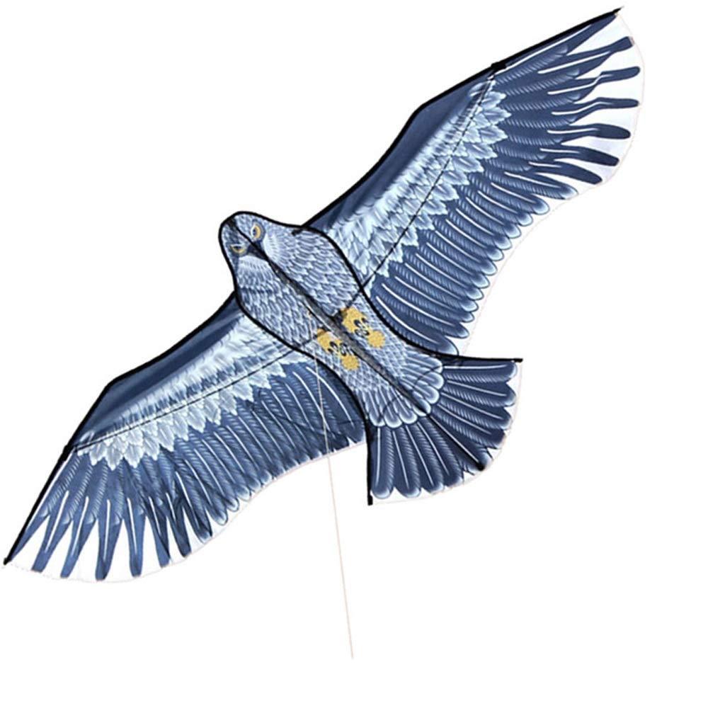LONGLONGJINGXIAO Cerf-Volant - Jouet cerf-Volant - Jeu de vol en Plein air - cerf-Volant à Longue Queue - cerf-Volant Adulte pour Enfant - cerf-Volant Aigle ( Size : C )