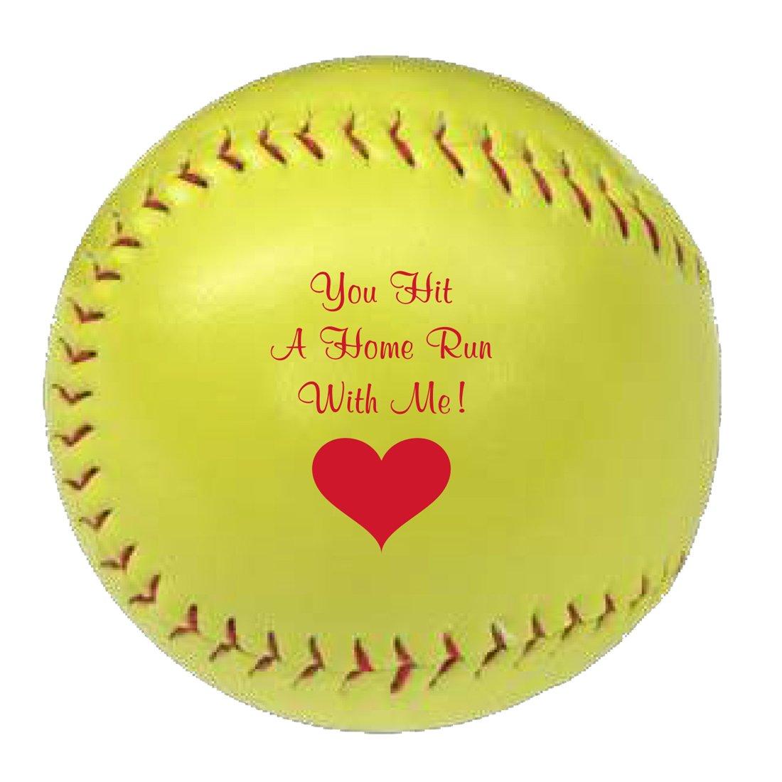 Romanticボールソフトボールギフトバレンタインの日 B07118NT4P