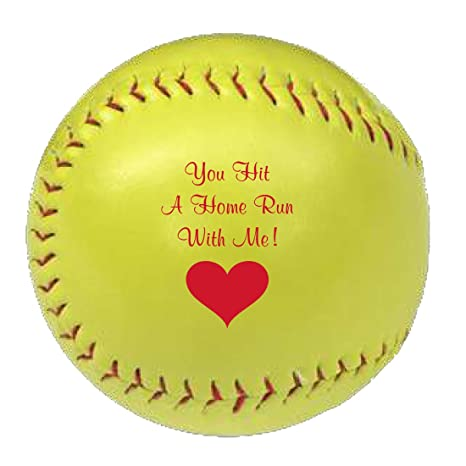 e013bbd80d6c2 Amazon.com   JustPaperRoses Romantic Balls Softball Gift for ...