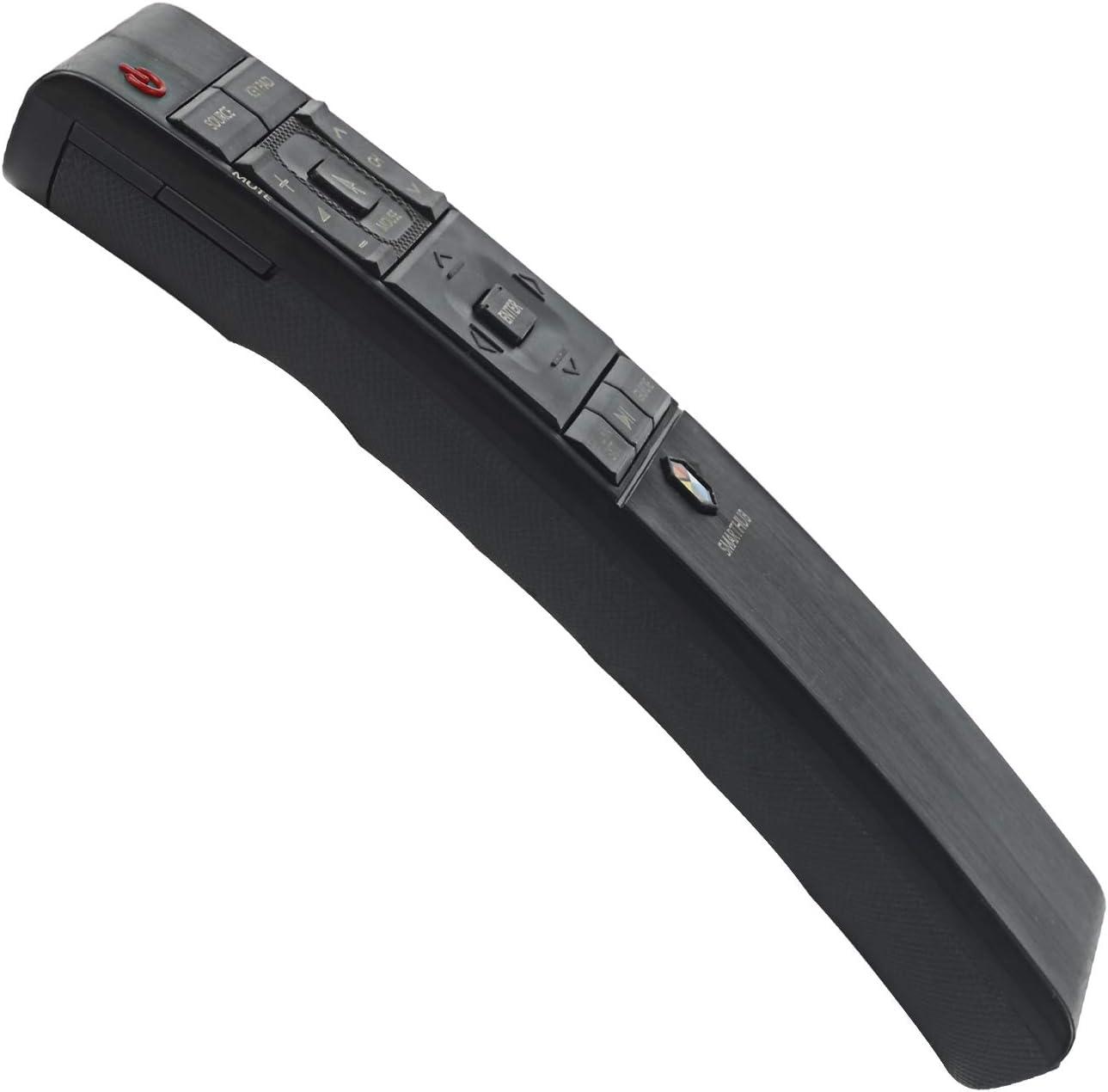 New Replaced Remote Control for Samsung 4K Smart UHD TV UN40JU6700F UN40JU7100F UN48JU6700F UN50JU7100F UN55JU6700F UN55JU670DF UN55JU7100F UN60JU7100F UN65JS9000F UN65JU6700F UN65JU670DF UN65JU7100F