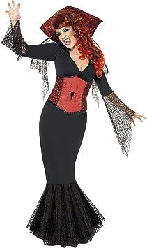 Smiffys Mujer Vampiro Disfraces de Halloween - Pequeño: Amazon.es ...