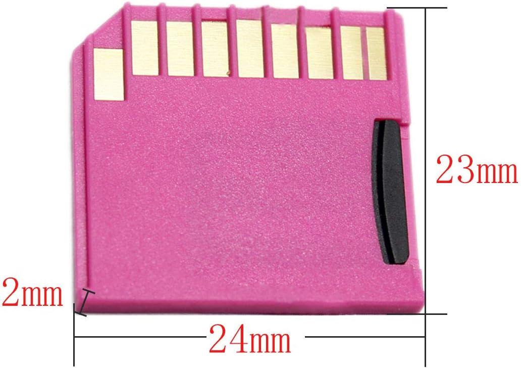 uu19ee Micro SD TF a Kit de Tarjeta SD Mini Adaptador Dise/ño de Almacenamiento Adicional para Macbook Air//Pro//Retina