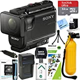 Sony HDR-AS50/B Full HD Action Camera + Outdoor Action Kit & Memory Bundle