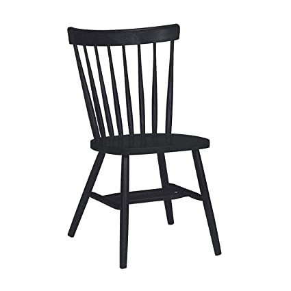 Superbe International Concepts Copenhagen Chair With Plain Legs, Black