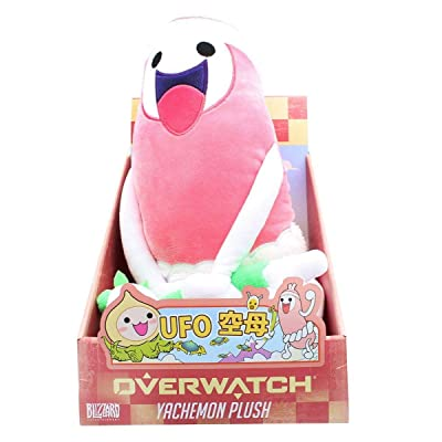 Official Overwatch Yachemon Hot Dog Guy Plush Toy in Package from Blizzard Entertainment: Toys & Games