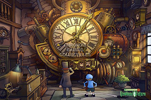 CGC Huge Poster - Professor Layton and the Unwound Future Nintendo DS - OTH079 (16