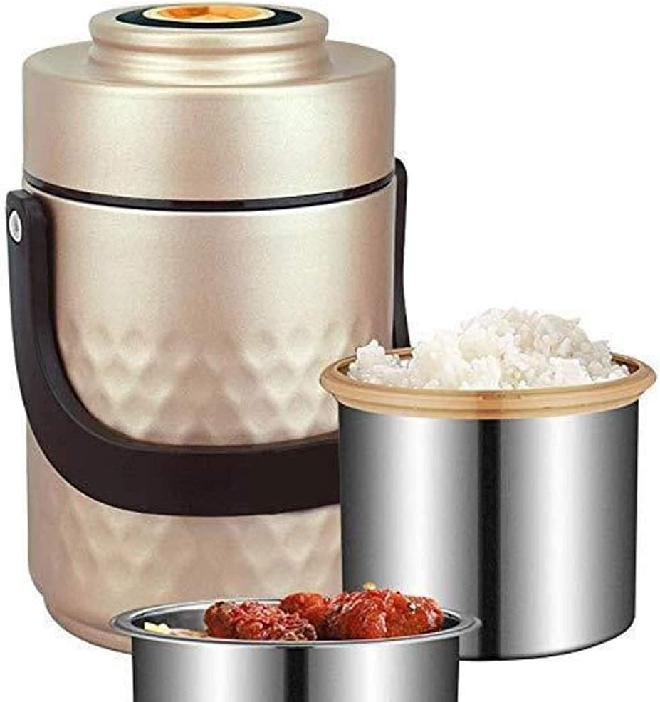CffdoiFanh Bento Box, Lunch Box Thermoses Insulated Food Storage, Stainless Steel Container Thermos Leak Proof Design Food Jar for Kids School Picnic Office Outdoors enjoy a hot lunch on the go.