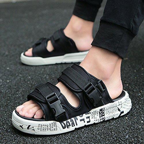 studenti e alla versatile moda moda delle 39 fresco giovane nero marea una sandali medie gli e scuole estate bianco e fankou e sandali di in Uomini personalità Pwq7YwUv