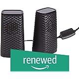 (Renewed) FD V320 2.0 USB Powered Desktop and Laptop Speakers (Black)