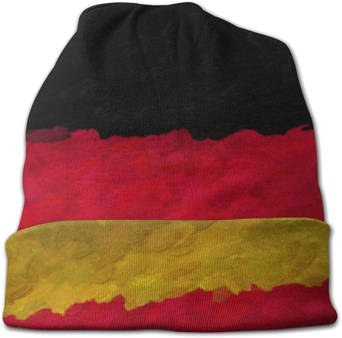 JINGUImao Germany Flag Unisex Warm Hat Knit Hat Skull Cap Beanies Cap