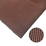 speaker grill mesh - ZUINIUBI Speaker Grill Cloth Stereo Dustproof Mesh Fabric for Audio (Brown)