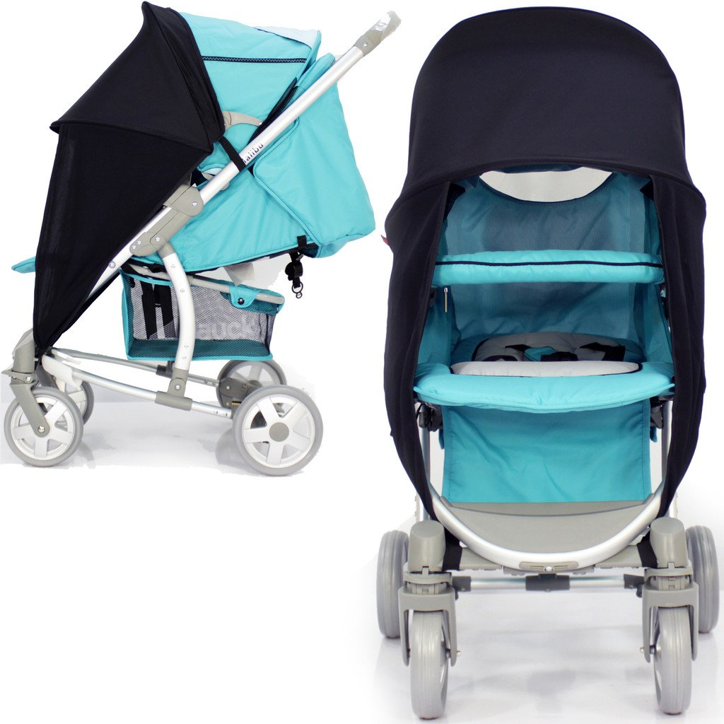 NEW SUNNY SAIL STROLLER PUSHCHAIR BUGGY SHADE CANOPY TO FIT SILVER CROSS BABY TRAVEL