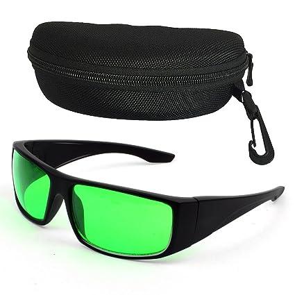 LED Pflanzenlampe Gläser Augenschutz Anti UV IR 400 Brille Hydroponik Pflanzen