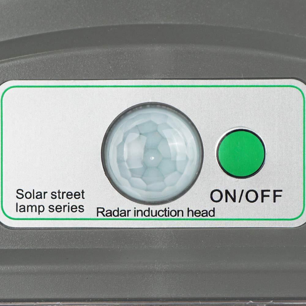 ECO LLC 60W LED Solar Powered Wall Street Light PIR Motion Outdoor Garden Lamp by ECO LLC (Image #7)