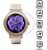 BlueBeach® 2 Pezzi Pellicola Protettiva LG Watch Style Temperato di Protezione in Vetro Dello Schermo Schermo Protezione (0.3mm 2.5D 9H Durezza)