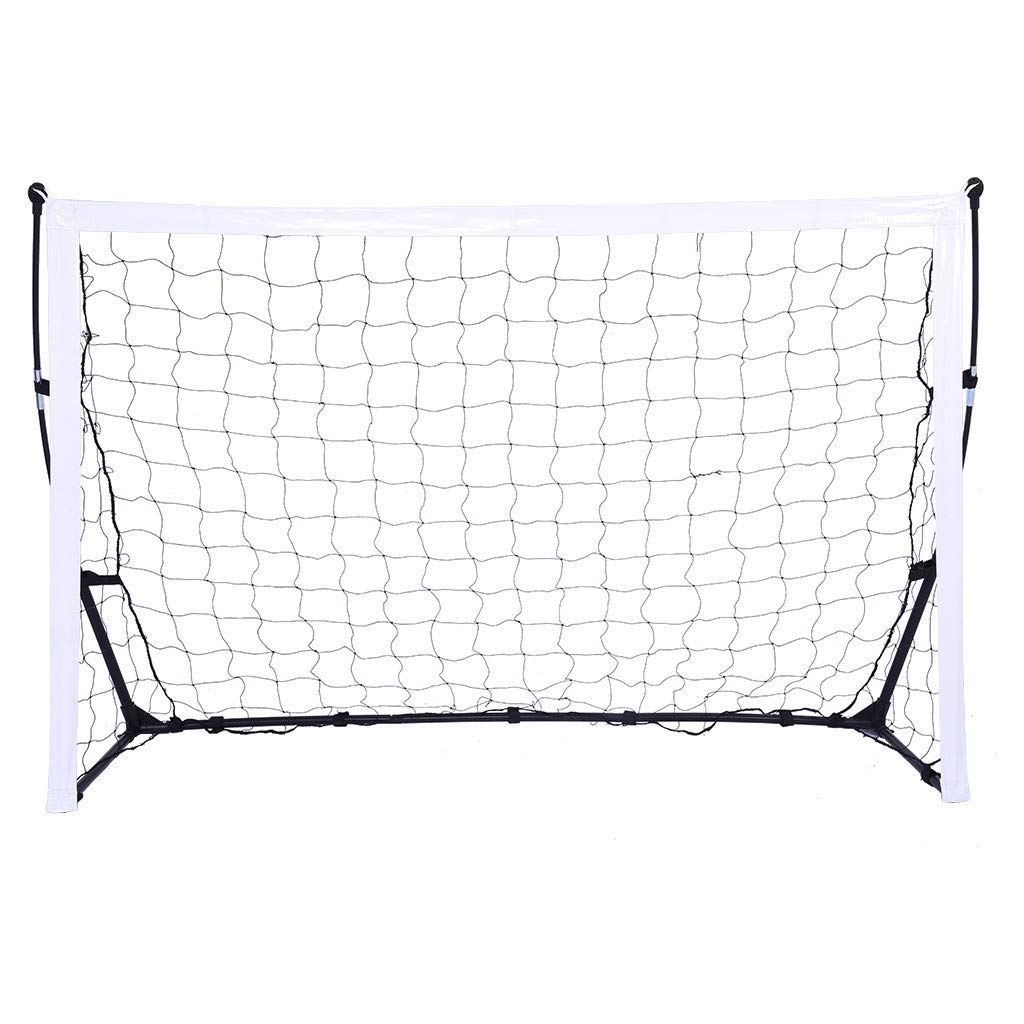 Ama-store Portable Soccer Goal, Instant Set-Up, Easy Fold-Up, Single Door Soccer Net Indoor or Outdoor Soccer Goal with Tote Bag, 70.4x21.6x49.2 Inches by Ama-store