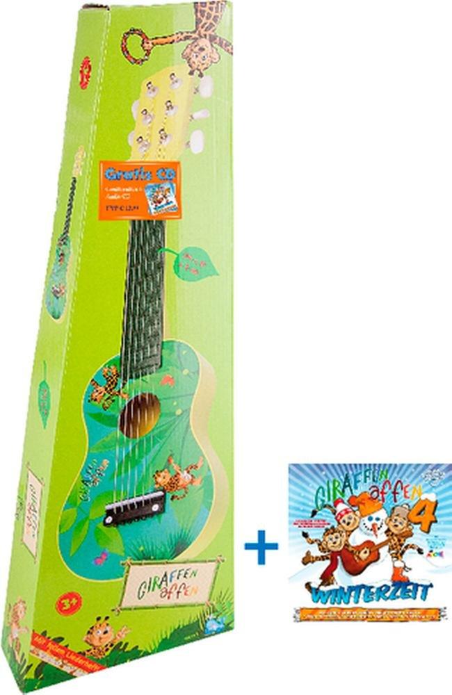 Beluga 67030 - Giraffenaffen Bundle Gitarre klein und C, Lern- und Experimentierspielzeug Beluga Spielw. GmbH