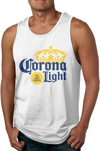 GGdjst Corona Extra - Camiseta de tirantes de algodón para hombre: Amazon.es: Ropa y accesorios