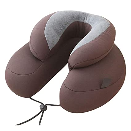 Office nap pillow Desk Image Unavailable Amazoncom Amazoncom Double Ushaped Pillow Neck Pillow Travel Pillow Office