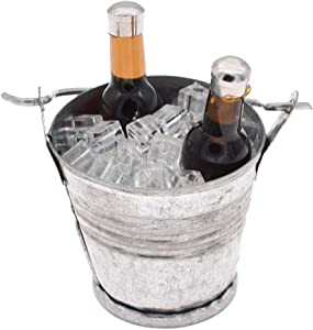 "Qlychee 1/6 Scale Ice Cube Bucket with Beer Bottles Model Toys for 12"" in Action Figure"