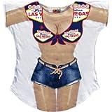 L.A. Imprints Race Car Girl Bikini Body Cover-Up T-Shirt