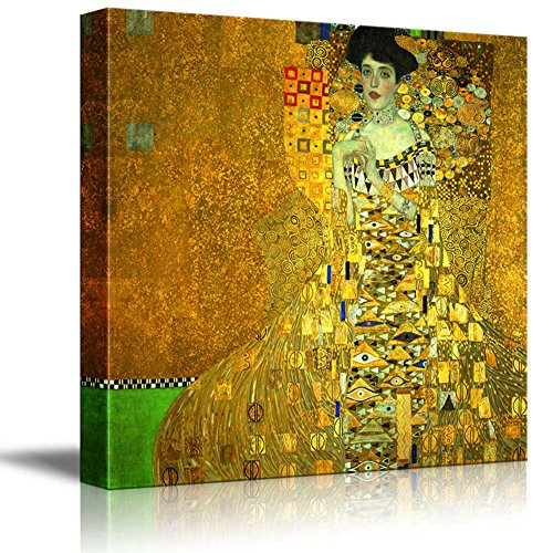 Adele Bloch Bauer I by Gustav Klimt Austrian Symbolist Painter Golden Phase
