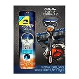 Gillette Fusion Proglide Razor with Flexball plus Gillette Fusion Proglide Shave Gel Gift Set