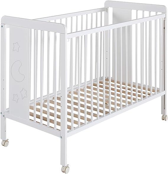 Babymobel Cama Cuna Luna 120x60 MICUNA MI6 cpu2007006-DESKandSIT-