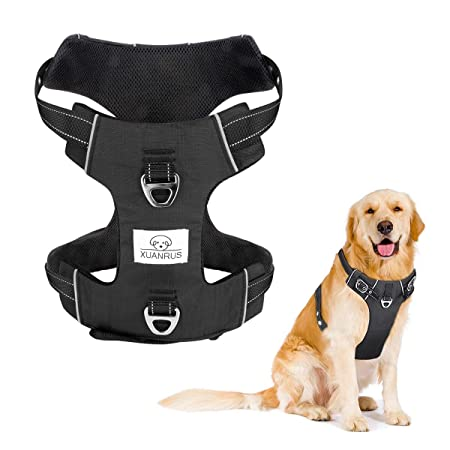 Arnés de perro ajustable sin tirones reflectante refrigeración ...